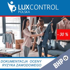 sprzedawca ocena ryzyka zawodowego